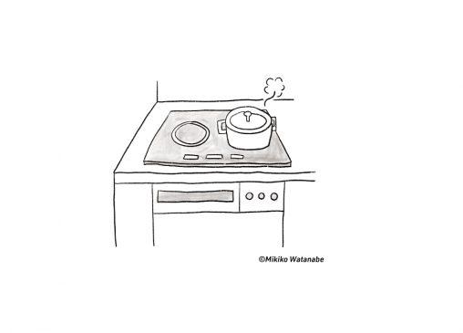 キッチンのコンロ