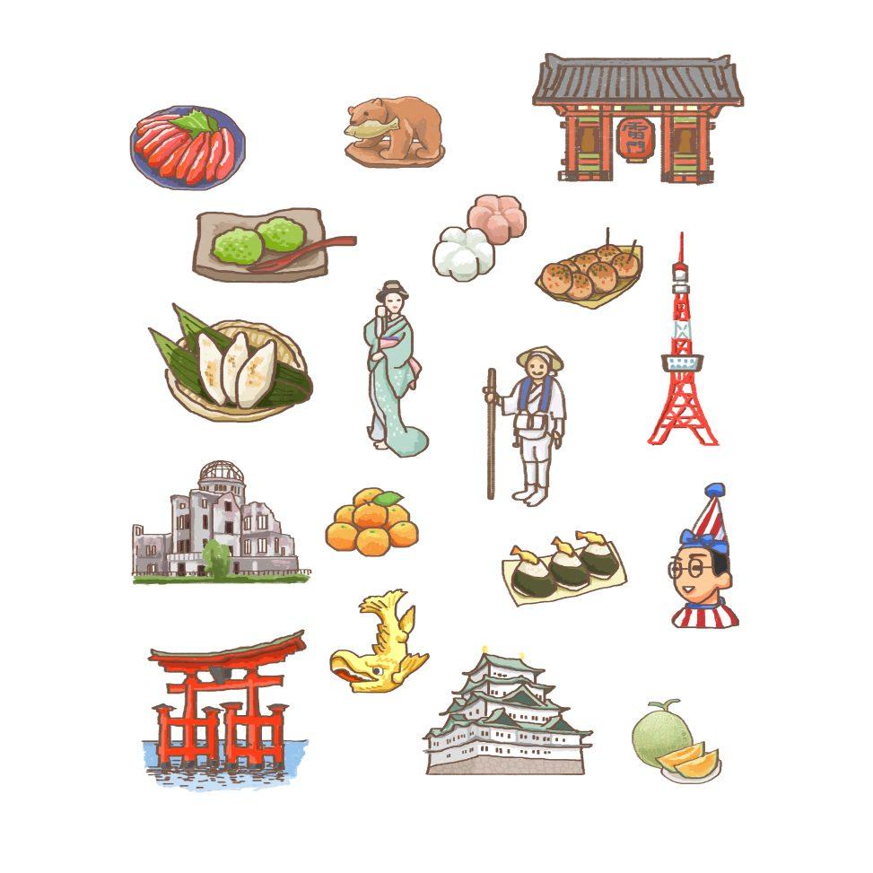 日本の名物