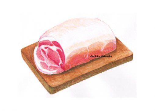豚肉イラスト