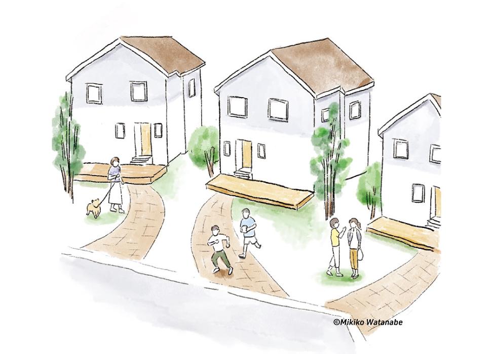 住宅のイラスト