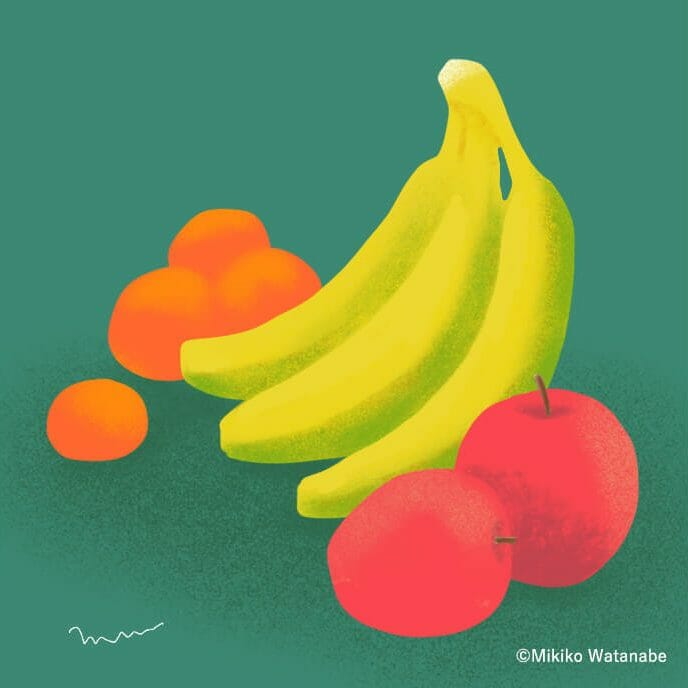 果物のイラスト